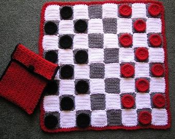 CHECKERS SET PDF Crochet pattern (English only)