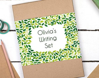 Letter Writing Set - Writing Paper - Gift for Mum - Gift for Mom - Letter Writing Paper Sets - Botanical Writing Paper Kit - Letter set
