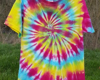 Youth Small Rainbow Tie-dye