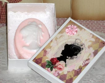 Little Lady Cameo Soap Gift