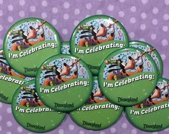 Disney Celebrate Pins Set of 10