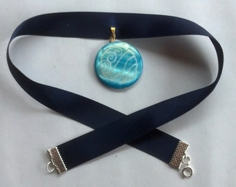 Katara water tribe inspired necklace / Avatar inspired Nation necklaces