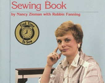 Sewing Book, The Busy Woman's Sewing Book, Nancy Zieman, Book, How to Book, Sewing Guide, Sewing Instructions, Learn to Sew, Free Shipping