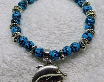Best Friends Dolphin Stretch Bracelet