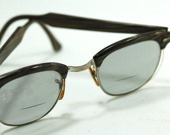 Ca. 50's Vintage Shuron Horn Rim Sun Glasses