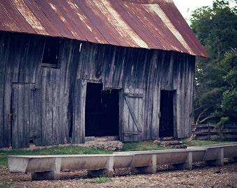 Rustic Old Barn Metal Standoff Print