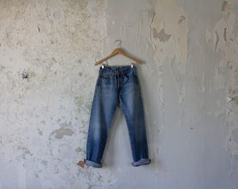Vintage Levis 501 Jeans -  Levi's Jeans 501 Faded 27 x 31 26 x 31 27 x 32 Button Fly - High Waist Jeans