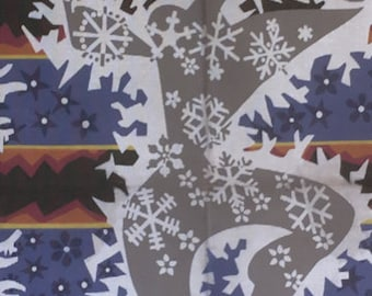 """french tapestry/canvas to achieve. """"Frost"""" from the 60s."""