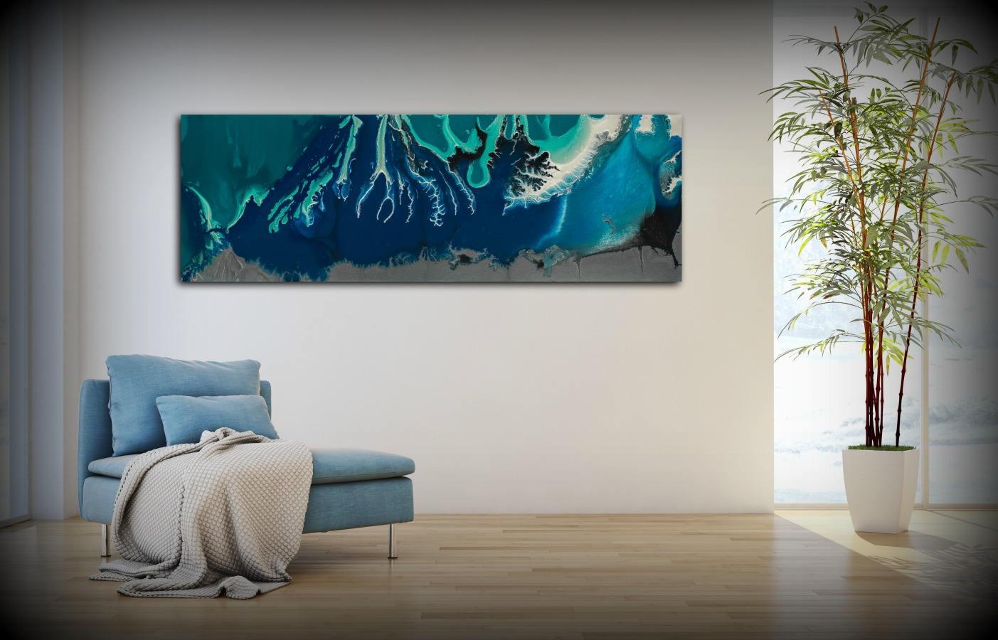 Abstract Canvas Wall Art Abstract Art Print Abstract Canvas Art Prints Abstract  Wall Art Large Abstract Canvas Abstract Modern Art Blue Art
