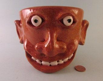 Southern Folk Art Oversized Face Mug