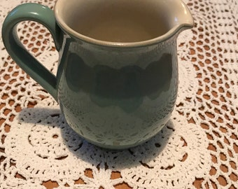 Vintage Denby Stoneware Milk Jug Creamer