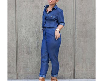 Mimi G Style Sewing PATTERN - 8060 Misses Jumpsuits - 2 Size Ranges Available