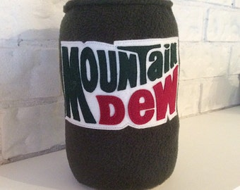 Plush Toy Can of Montain Dew