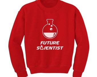 Future Scientist Toddler Sweatshirt
