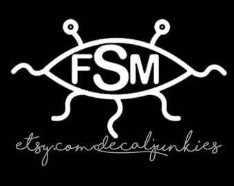 Flying Spaghetti Monster Wall/Window Decal