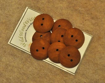 """1"""" Cherry  - 8 buttons - Soft Finish nongloss"""