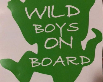 Wild Things Decals