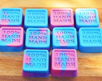 BULK x 100 - Handmade Soaps - Bubblegum