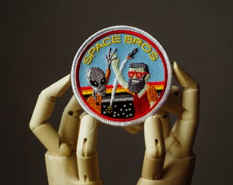 Space Patch | Sew on | Embroidery | Patches for Jackets | UFO Patch | NASA Patch | Ufology Patch | Tumblr Patch | Cute Patch | Vintage Patch