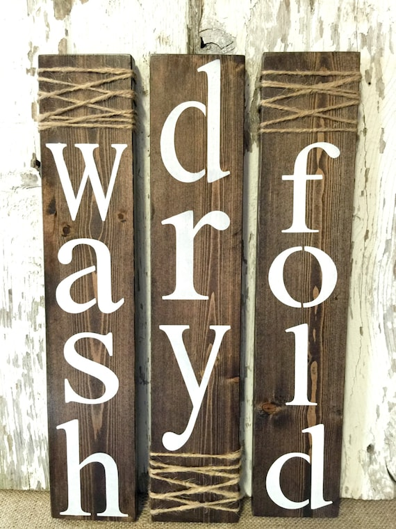 Laundry Room Signs Laundry Room Decor Rustic Laundry Signs
