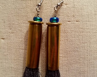 Bullet Casing Earrings (357 Mag)