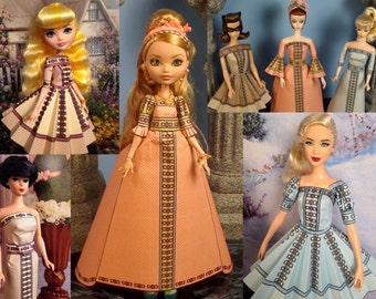 Marie Printable Doll Clothes - Fits Ever After High, Barbie, and More!