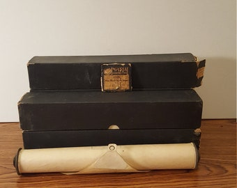 5 Vintage Player Piano Music Rolls, Upcycling, Steampunk, Crafting, Luminaries, Lamp Shades, Paper Craft
