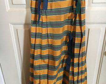 Vintage Cullinane Lady's Striped Skirt