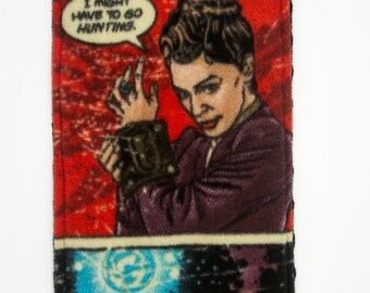 Missy/The Master Doctor Who Seat Belt Cover/Cozy