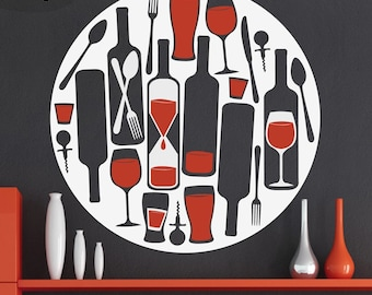 Are You There Wine - Vinyl Wall Decal
