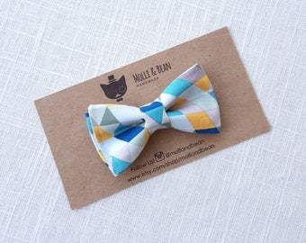Boys Blue Bow Tie, Toddler Blue Bow Tie, Baby Blue Bow Tie, Blue Bow Tie, Bow Tie, Ring Bearer Bow Tie, Easter Bowtie