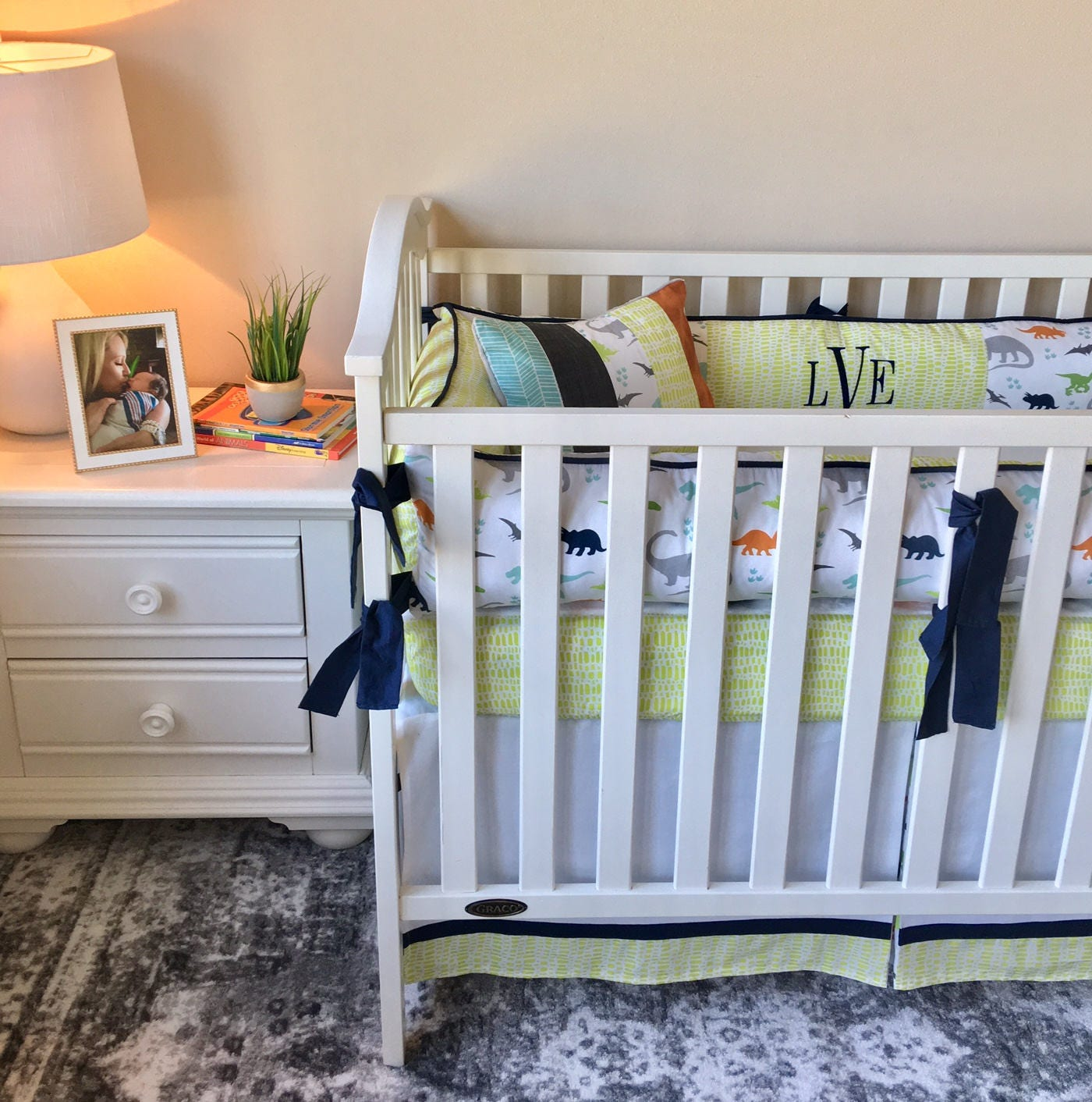 Baby Boy Crib Bedding Dinosaur Crib Bedding Dinosaur