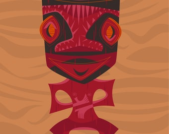The Tikis - Set of 5