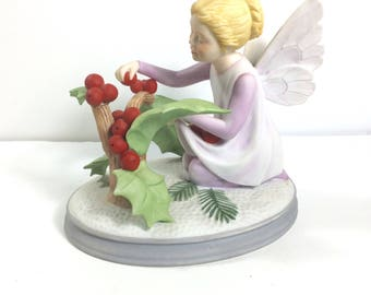 Faerie Seasons 1984 woodland Nymph numbered porcelain American Greetings.