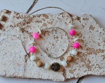 Seed Bracelet-Natural jewelry-string Bracelet