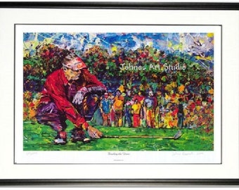 Golf wall art, Man cave wall art, golfing print, office wall art, Pittsburgh artist Johno Prascak, Johnos Art Studio