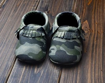 Camo Baby Shoes