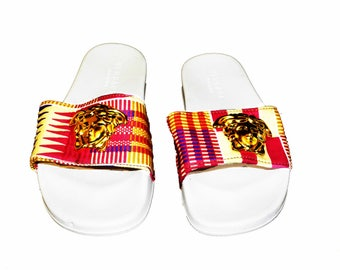 Madinka Kente Shoe