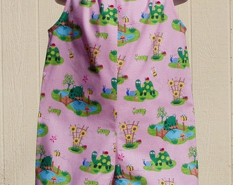 Around the Pond Pillowcase Romper Size 2T