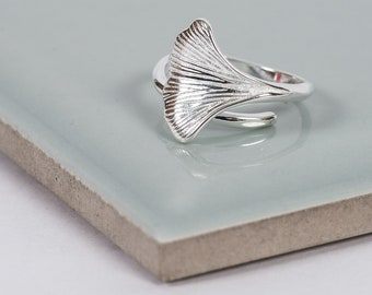 Sterling Silver Sound Of The Sea Ring