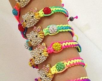Hand Woven Kitty Bracelets
