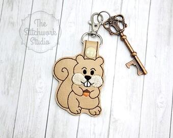 Squirrel Keychain - Key Fob