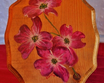 Painting, Wood, Flowers, Oil, Paints, Wall Decor