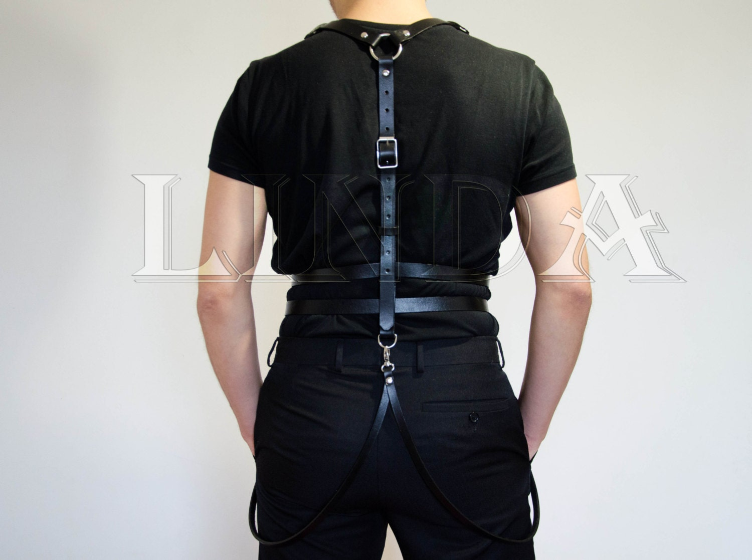 Harness Leather For Men Mens Leather Harness Leather