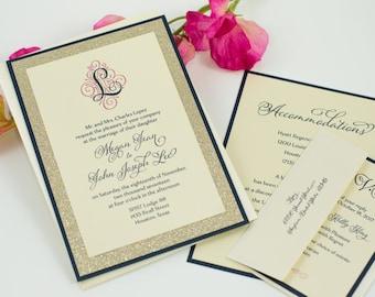 Maureen's Triple-Layered Invitation Suites