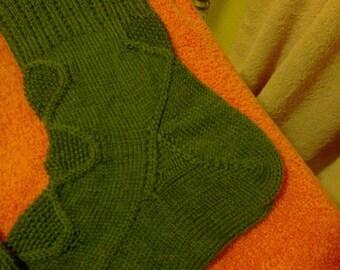 Alessandrite Socks - PDF digital knitting pattern