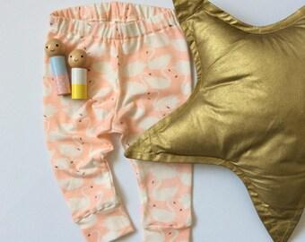 SWANLING LEGS / Swanling leggings, swan leggings, leggings, baby leggings, toddler leggings, handmade leggings