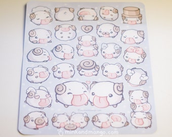 Poro Stickers
