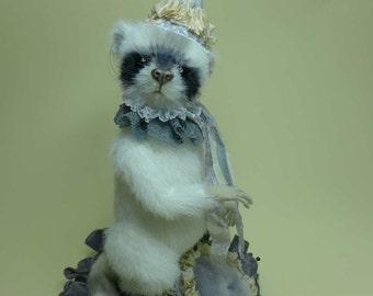 Waschbär Nadelkissen Pincushion selber nähen by Furry Critters 83 Seiten ebook inkl. Schnittmuster