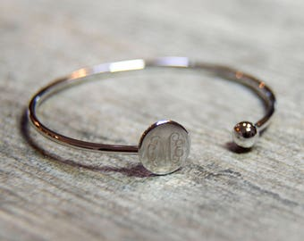 Personalized Cuff Bangle Free shipping